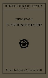 Cover Funktionentheorie