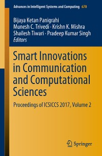 Cover Smart Innovations in Communication and Computational Sciences