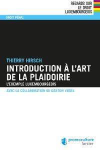 Cover Introduction à l'art de la plaidoirie
