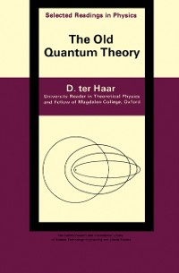 Cover Old Quantum Theory