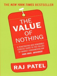 Cover The Value of Nothing
