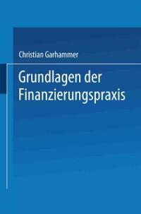 Cover Grundlagen der Finanzierungspraxis