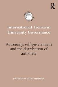 Cover International Trends in University Governance
