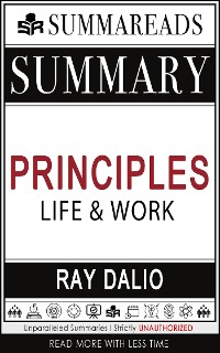 Cover Summary of Principles: Life and Work by Ray Dalio