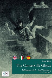 Cover The Canterville Ghost (English + Spanish + Italian Interactive Version)