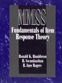 Cover Fundamentals of Item Response Theory
