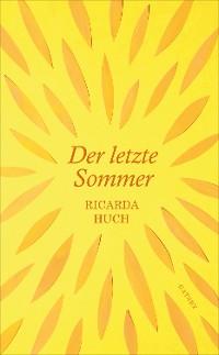 Cover Der letzte Sommer