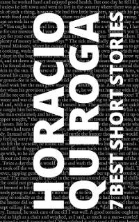 Cover 7 best short stories by Horacio Quiroga