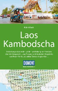 Cover DuMont Reise-Handbuch Reiseführer Laos, Kambodscha