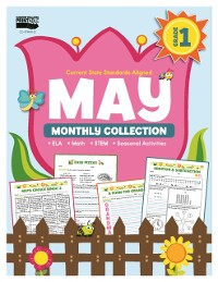 Cover May Monthly Collection, Grade 1