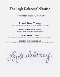 Cover The Layla Delaney Collection: The Anderson Circle: 2014-2016