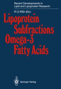 Cover Lipoprotein Subfractions Omega-3 Fatty Acids