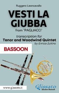 Cover (Bassoon part) Vesti la giubba - Tenor & Woodwind Quintet