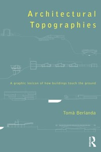 Cover Architectural Topographies