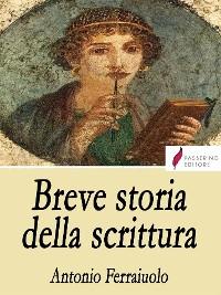Cover Breve storia della scrittura