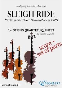 Cover Sleigh Ride - String quartet/quintet score & parts