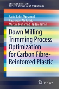 Cover Down Milling Trimming Process Optimization for Carbon Fiber-Reinforced Plastic