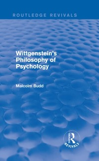 Cover Wittgenstein's Philosophy of Psychology (Routledge Revivals)