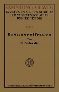 Cover Brennereifragen
