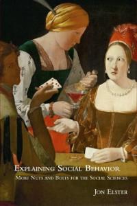 Cover Explaining Social Behavior