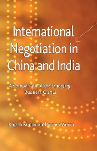 Cover International Negotiation in China and India
