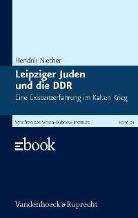 Cover Leipziger Juden und die DDR