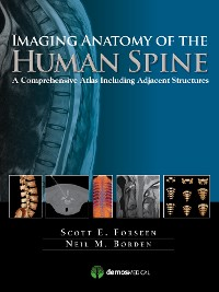 Cover Imaging Anatomy of the Human Spine