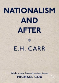 Cover Nationalism and After