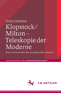 Cover Klopstock/Milton - Teleskopie der Moderne