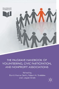 Cover The Palgrave Handbook of Volunteering, Civic Participation, and Nonprofit Associations