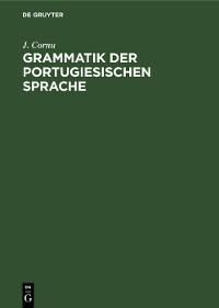 Cover Grammatik der portugiesischen Sprache