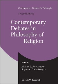 Cover Contemporary Debates in Philosophy of Religion