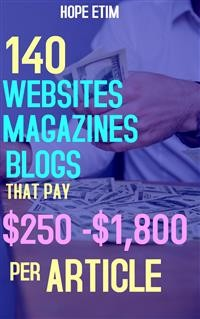 Cover 140 Websites, Magazines, Blogs That pay $250 - $1,800 per Article