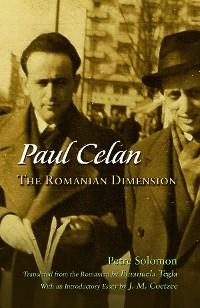 Cover Paul Celan