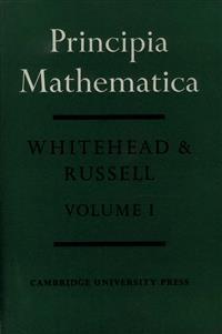 Cover Principia Mathematica (Volume I)