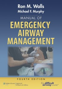 Cover Manual of Emergency Airway Management