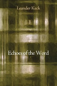 Cover Echoes of the Word