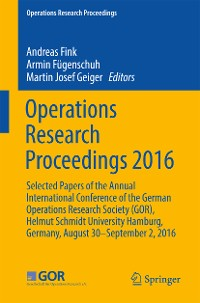 Cover Operations Research Proceedings 2016