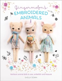 Cover Gingermelon's Embroidered Animals