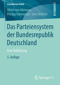 Cover Das Parteiensystem der Bundesrepublik Deutschland