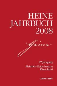Cover Heine-Jahrbuch 2008
