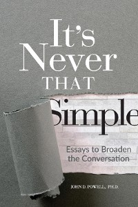 Cover It's Never That Simple