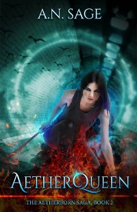 Cover AETHERQUEEN