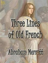 Cover Three Lines of Old French