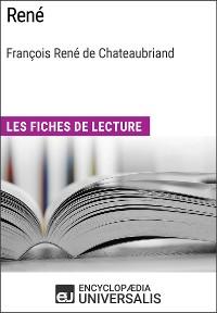 Cover René de François René de Chateaubriand