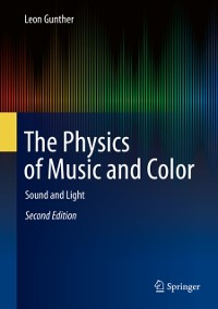 Cover Physics of Music and Color