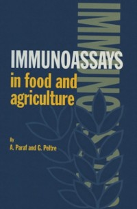 Cover Immunoassays in Food and Agriculture