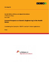 Cover Current Prospects on Genetic Engineering in the Health Sector