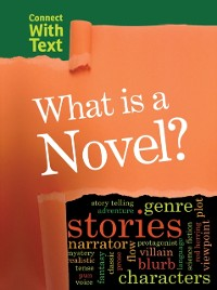 Cover What is a Novel?