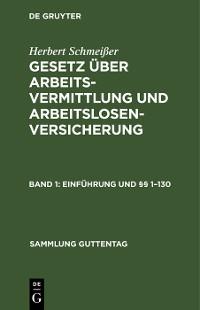 Cover Einführung und §§ 1–130